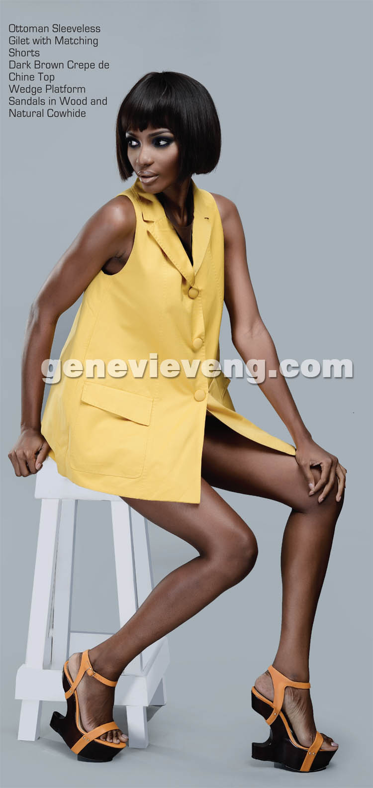 Miss World 2001 Agbani Darego